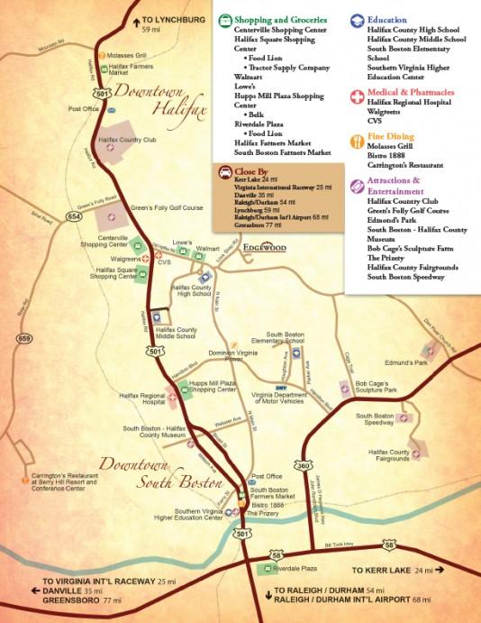 Edgewood Townhomes Community Map